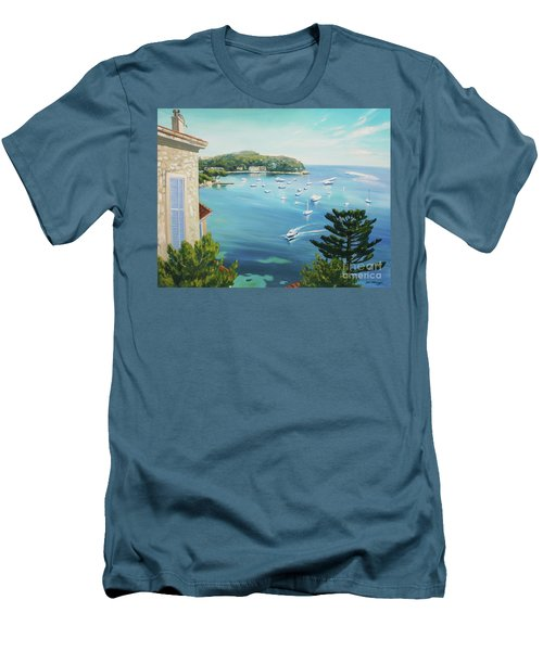 St Jean Cap Ferrat 2 Men's T-Shirt (Athletic Fit)