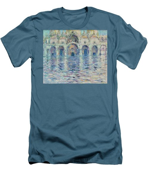st-Marco square- Venice Men's T-Shirt (Athletic Fit)