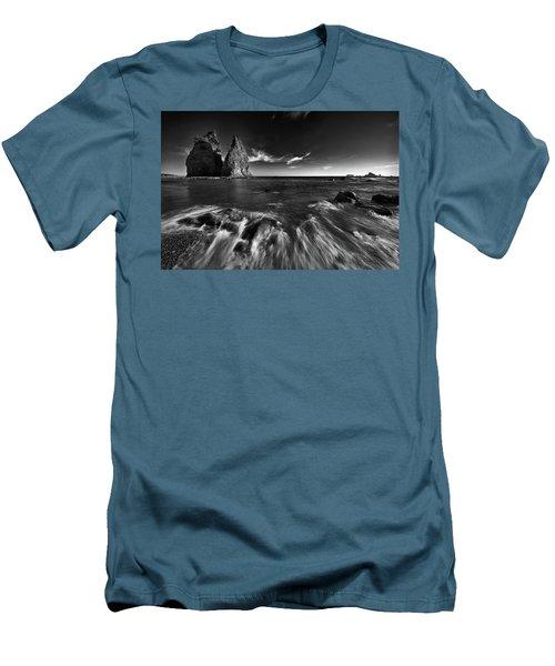 Stacks In Olympic Men's T-Shirt (Slim Fit) by Jon Glaser