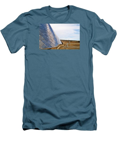 Staircase  Men's T-Shirt (Slim Fit) by Martin Cline