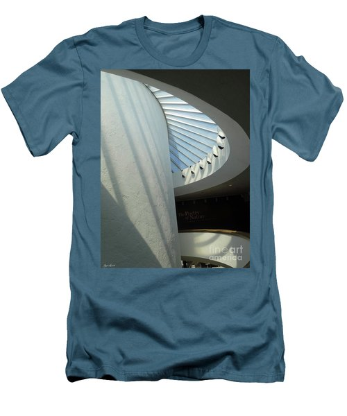 Stairway Abstract Men's T-Shirt (Slim Fit) by Lyric Lucas