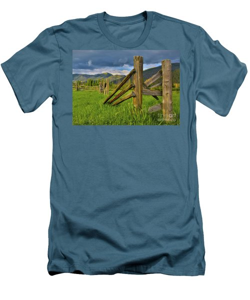 Standing The Test Of Time Men's T-Shirt (Slim Fit) by John Roberts