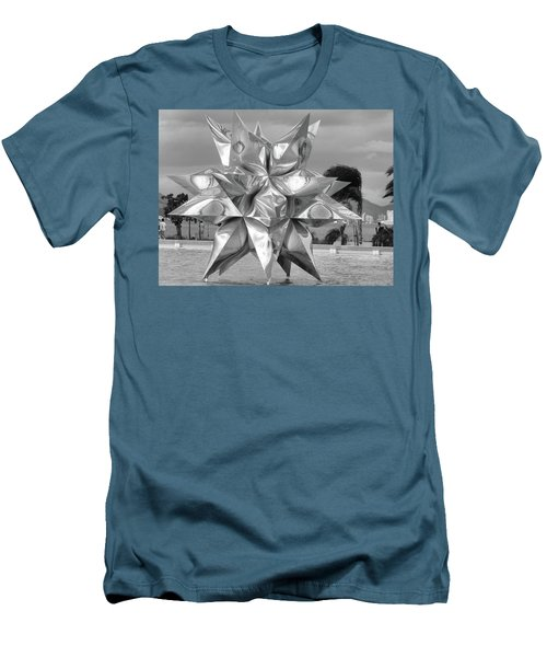 Star Men's T-Shirt (Slim Fit) by Beto Machado