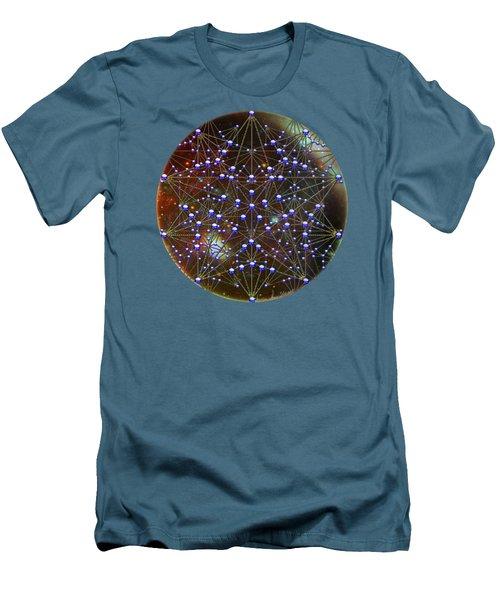 Star Men's T-Shirt (Slim Fit) by Iowan Stone-Flowers