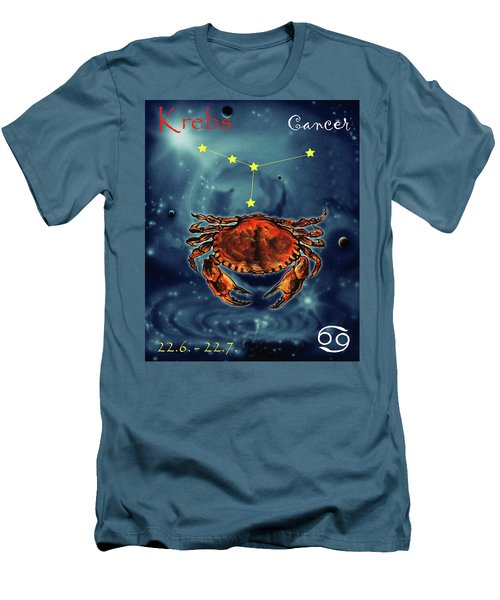 Star Of Cancer Men's T-Shirt (Athletic Fit)