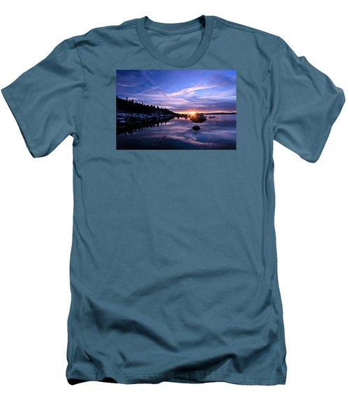 Starburst Men's T-Shirt (Slim Fit) by Sean Sarsfield