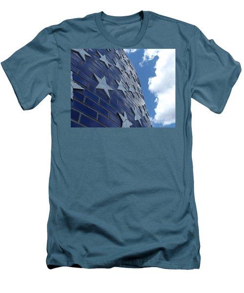 Stars And Stripes Men's T-Shirt (Slim Fit) by Erick Schmidt