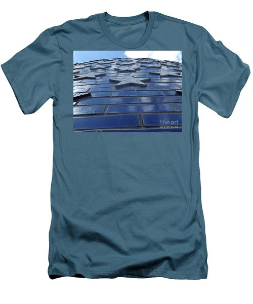 Stars To The Sky Men's T-Shirt (Slim Fit) by Erick Schmidt