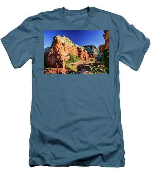 Steamboat 07-158 Men's T-Shirt (Slim Fit) by Scott McAllister