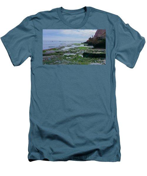 Steamer Lane Santa Cruz Men's T-Shirt (Slim Fit) by Mark Barclay