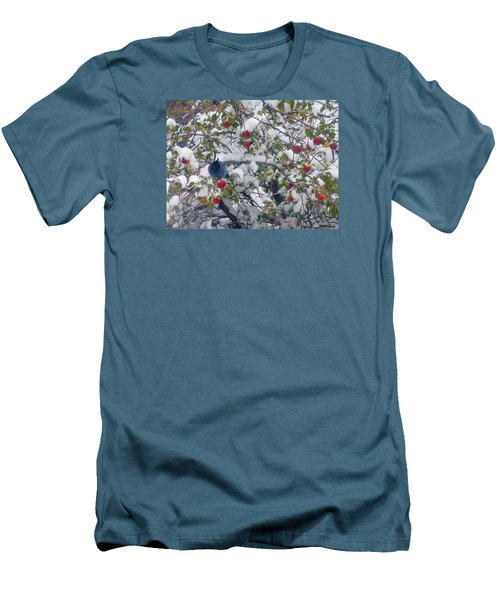 Stellar Jay  Men's T-Shirt (Athletic Fit)