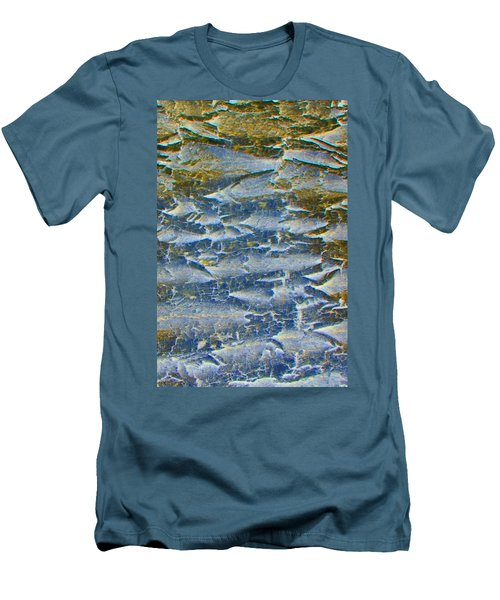 Men's T-Shirt (Slim Fit) featuring the photograph Stepping Stones by Lenore Senior