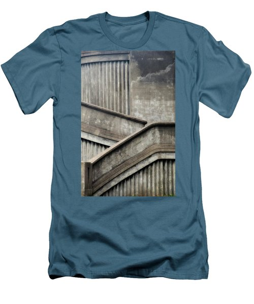 Steps Men's T-Shirt (Slim Fit) by Newel Hunter