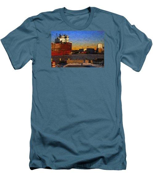 Stewart J. Cort Men's T-Shirt (Slim Fit) by David Blank