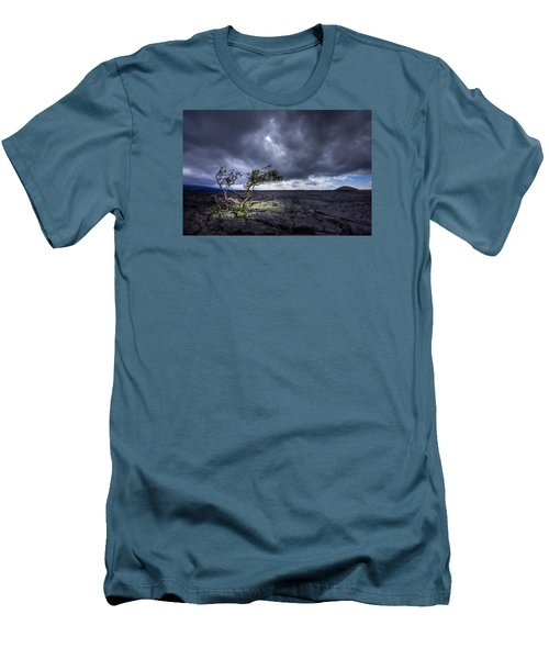 Men's T-Shirt (Slim Fit) featuring the photograph Still Fighting by Dan Mihai