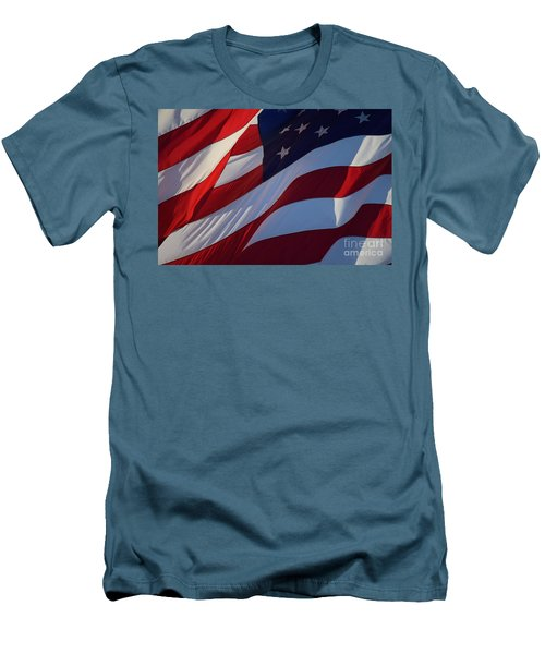 Still Our Flag. Men's T-Shirt (Athletic Fit)