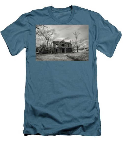 Still Standing Men's T-Shirt (Slim Fit) by Paul Seymour