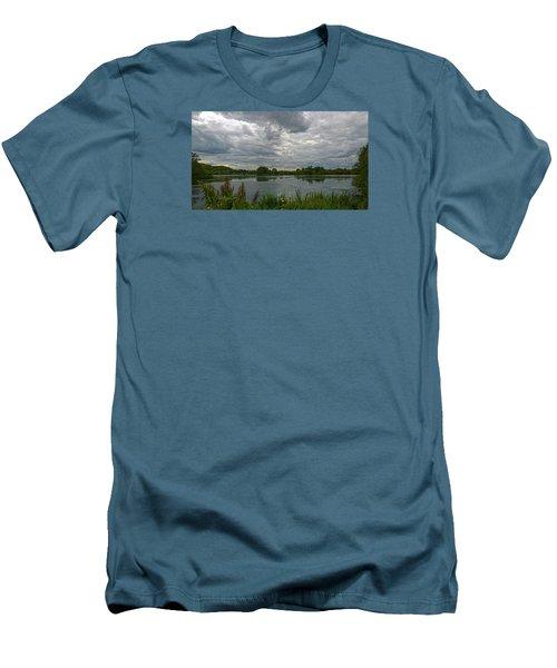 Still Waters Men's T-Shirt (Slim Fit) by Anne Kotan