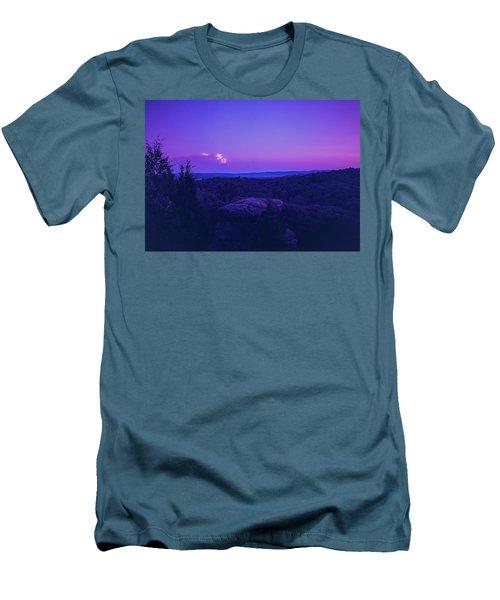 Stone Cloud Sky Cloud Men's T-Shirt (Athletic Fit)