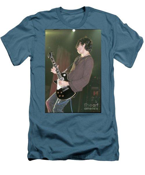 Stone Temple Pilots Dean Deleo Men's T-Shirt (Athletic Fit)