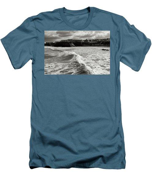 Storm Doris Men's T-Shirt (Slim Fit) by Nicholas Burningham