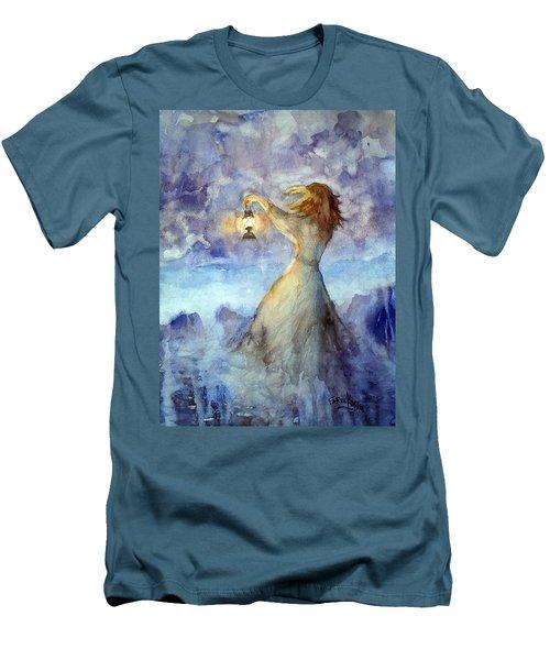 Storm... Men's T-Shirt (Slim Fit) by Faruk Koksal