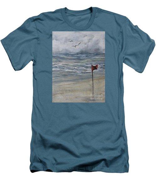 Storm Warning Men's T-Shirt (Athletic Fit)