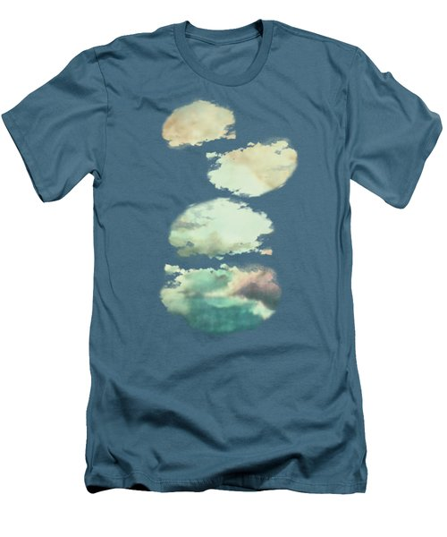 Stormy Sky Men's T-Shirt (Slim Fit) by AugenWerk Susann Serfezi