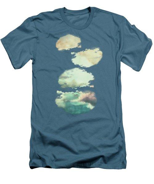 Stormy Sky Men's T-Shirt (Slim Fit)