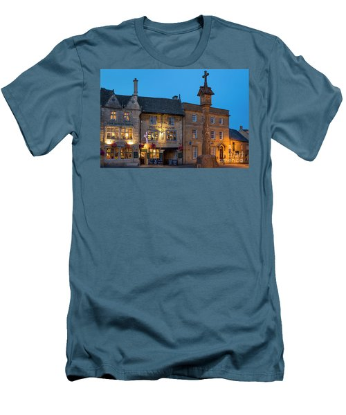 Men's T-Shirt (Slim Fit) featuring the photograph Stow On The Wold - Twilight by Brian Jannsen