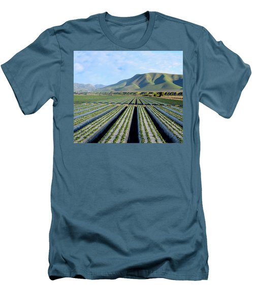 Men's T-Shirt (Slim Fit) featuring the photograph Strawberry Fields Forever by Floyd Snyder