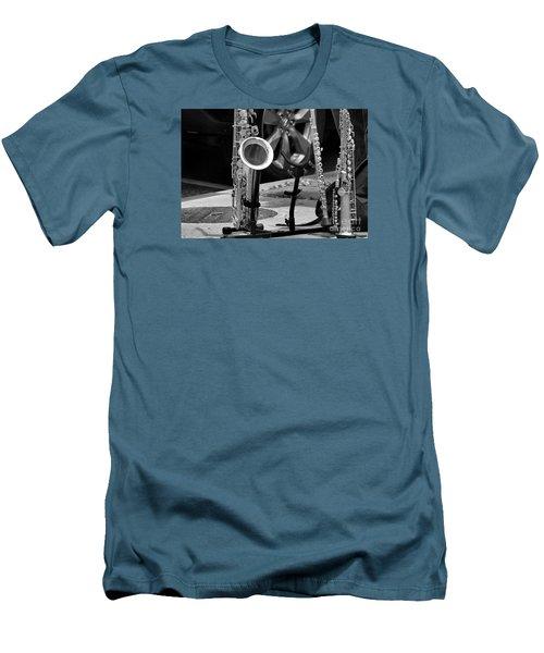 Street Music Men's T-Shirt (Slim Fit) by John S