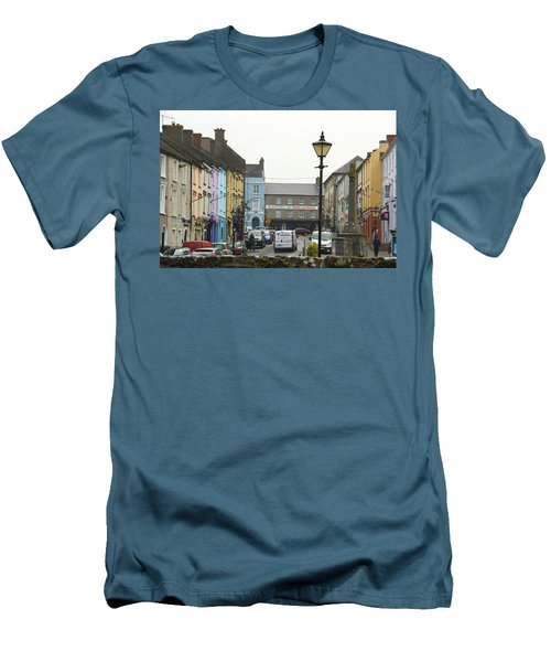 Men's T-Shirt (Slim Fit) featuring the photograph Streets Of Cahir by Marie Leslie