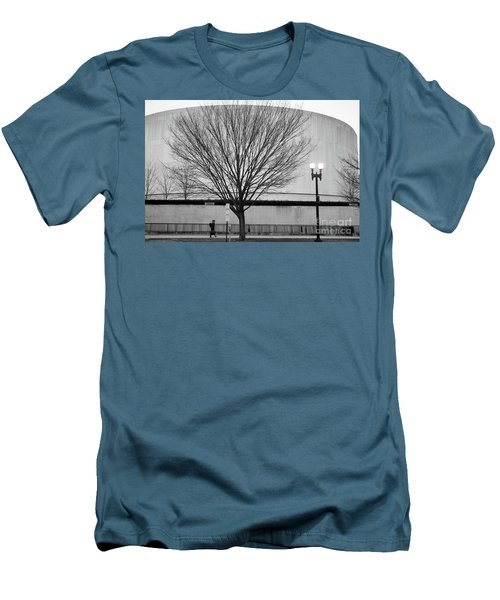 Street Shot At The Hirshorn  Men's T-Shirt (Athletic Fit)