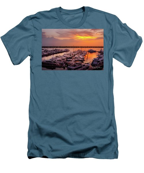 Stuart Sunset Men's T-Shirt (Athletic Fit)