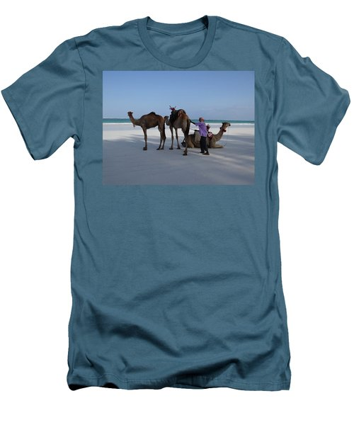Stubborn Wedding Camels Men's T-Shirt (Athletic Fit)