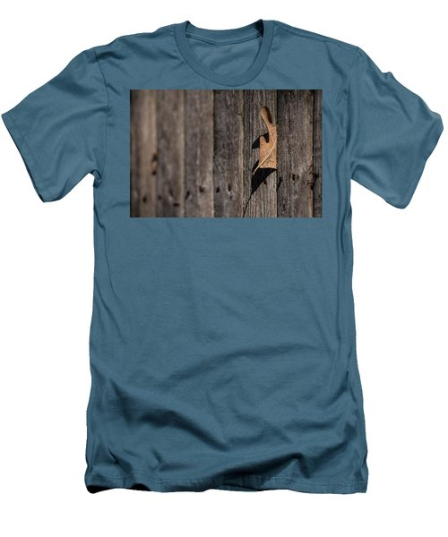Men's T-Shirt (Slim Fit) featuring the photograph Stuck by Karol Livote