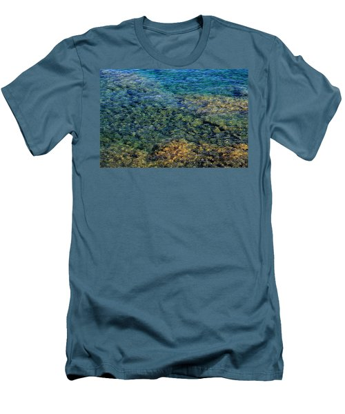 Submerged Rocks At Lake Superior Men's T-Shirt (Athletic Fit)