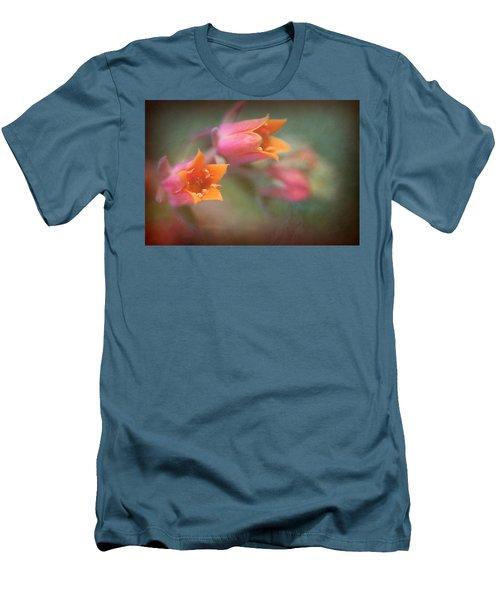 Succulent Flower Men's T-Shirt (Slim Fit) by Catherine Lau