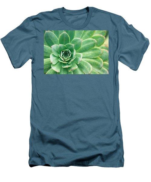 Succulents II Men's T-Shirt (Athletic Fit)