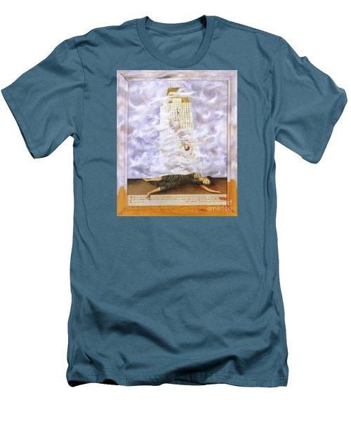Suicide Of Dorothy Hale Men's T-Shirt (Slim Fit) by Frida Kahlo