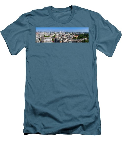 Sumer Panorama Of London Men's T-Shirt (Athletic Fit)