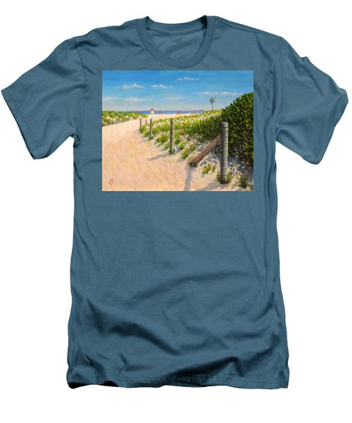 Summer 12-28-13 Men's T-Shirt (Slim Fit) by Joe Bergholm