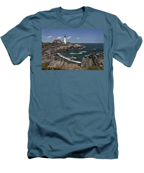 Summer Afternoon, Portland Headlight Men's T-Shirt (Athletic Fit)