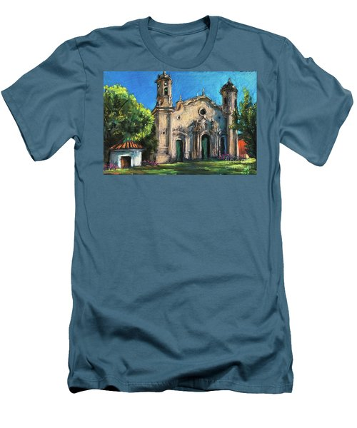 Summer Church Men's T-Shirt (Athletic Fit)