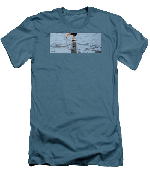 Men's T-Shirt (Slim Fit) featuring the photograph Summer Feet   #2 by Margie Avellino