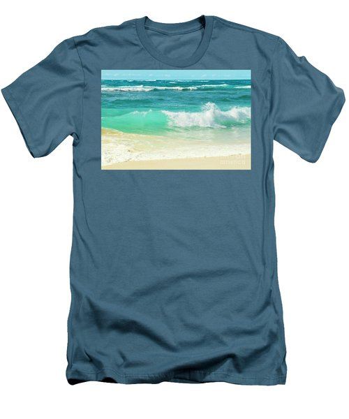 Summer Sea Men's T-Shirt (Slim Fit) by Sharon Mau