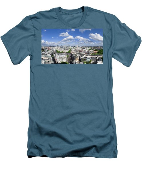 Summer Skies Over London Men's T-Shirt (Athletic Fit)