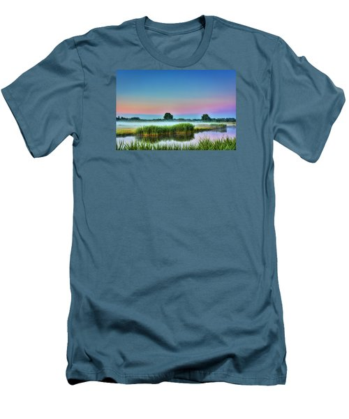 Summer Sunrise Men's T-Shirt (Athletic Fit)
