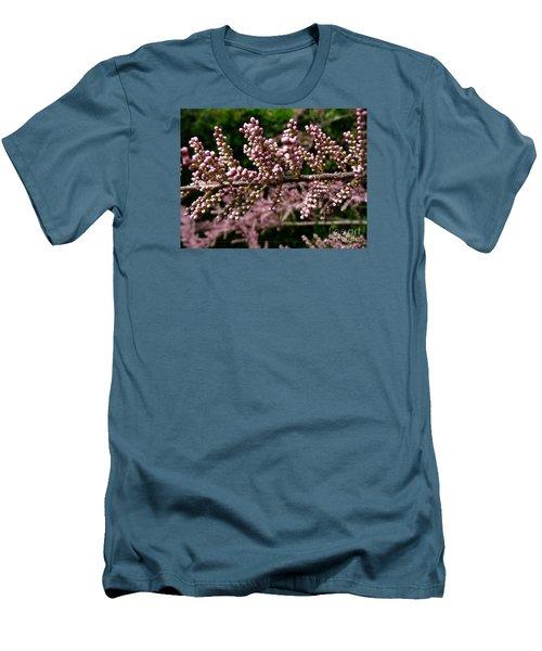 Men's T-Shirt (Slim Fit) featuring the photograph Summer Tamarisk 2 by Jean Bernard Roussilhe